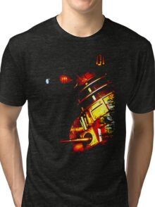 Dalek Beta – Bronze Tri-blend T-Shirt