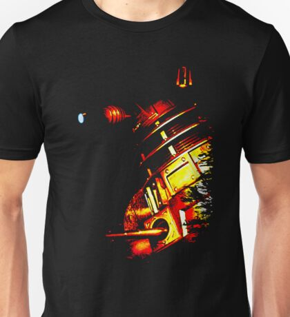 Dalek Beta – Bronze Unisex T-Shirt
