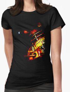 Dalek Beta – Bronze Womens Fitted T-Shirt