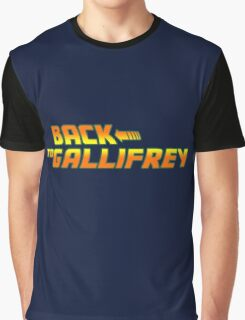 Back to Gallifrey Graphic T-Shirt