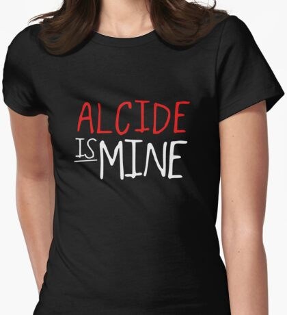 Alcide Is Mine- True Blood Womens Fitted T-Shirt