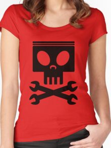 Jolly Wrenches - Planes Women's Fitted Scoop T-Shirt