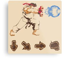 Know your Fighting Skills  Metal Print
