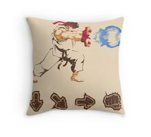 Know your Fighting Skills  Throw Pillow