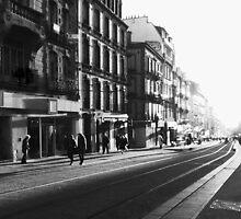 Brest - Rue Jean Jaurès. by Jean-Luc Rollier