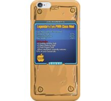 Legendary Eye-Pwn Class Mod iPhone Case/Skin