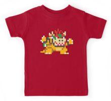 Super Mario Maker - Bowser Costume Sprite Kids Tee