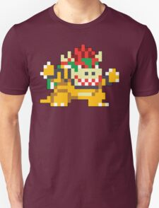 Super Mario Maker - Bowser Costume Sprite Unisex T-Shirt