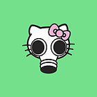 Empty Kitty - iPhone / iPod / iPad Case by Moovian