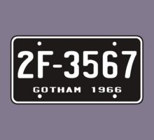 Bat Licence Plate by nickolas66