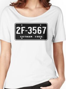 Bat Licence Plate Women's Relaxed Fit T-Shirt