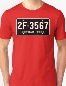 Bat Licence Plate T-Shirt
