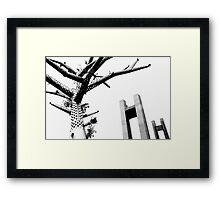 Sculptures brestoises. Framed Print
