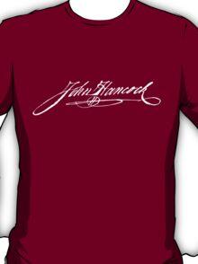 John Hancock Signature T-shirt T-Shirt