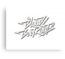 The Bloody Beetroots Logo Canvas Print