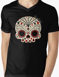 Bone Kandi - Love Mens V-Neck T-Shirt
