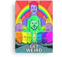 Breaking Mad: Let's Get Wilfred Canvas Print