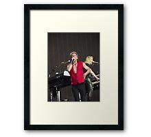 Bon Jovi at Hyde Park Framed Print