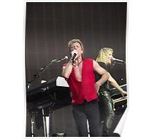Bon Jovi at Hyde Park Poster