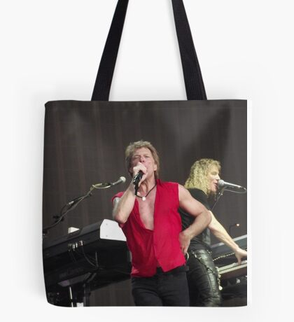 Bon Jovi at Hyde Park Tote Bag