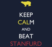 Keep CALm and Beat Stanfurd (Stanford) Kids Clothes