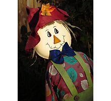 Designer Scarecrow Photographic Print