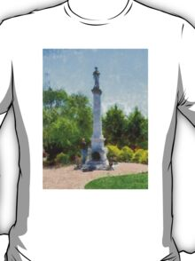 Confederate Monument in Franklin, NC T-Shirt