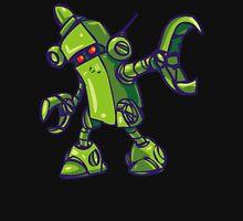 GREEN EXTERMINATOR ROBOT T SHIRT Mens V-Neck T-Shirt