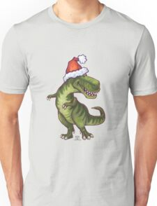 Tyrannosaurus Christmas Unisex T-Shirt