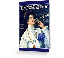 """Pamela Phelps"", ""Pine Singer Images"", advertising, beverages, coca-cola, collectibles, foods, soda, soda, vintage Greeting Card"