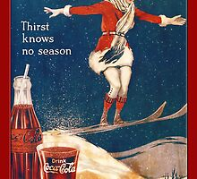 Coca-Cola-Vintage Woman Christmas by Yesteryears