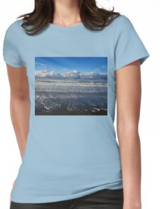 Beckoning Sea Womens Fitted T-Shirt