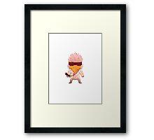 Nuclear Throne - Chicken Design - HIGH QUALITY Framed Print