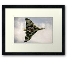 The Vulcan Bomber  Framed Print