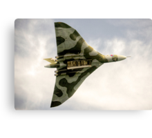 The Vulcan Bomber  Canvas Print