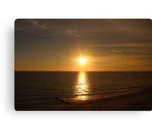 Sunset Shadows Canvas Print