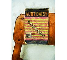 Aunt Daisy's Cookery No 4 Photographic Print