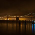 The Bay Lights by dingobear