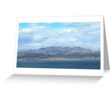 Nevada Sky Greeting Card