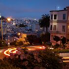 Lombard Street at Night by dingobear