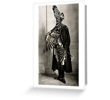 The Onlooker. Greeting Card