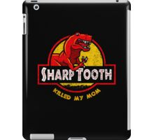 Sharp Tooth Killed My Mom (Land Before Time) iPad Case/Skin
