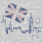 I LOVE LONDON T SHIRT by GeekShirtsHQ