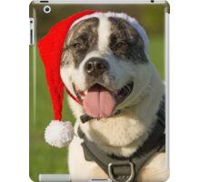 Dog in Santa Hat iPad Case/Skin