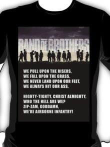 Band of Brothers - Airborne Infantry T-Shirt