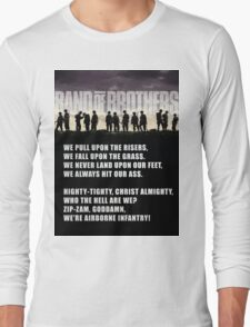 Band of Brothers - Airborne Infantry Long Sleeve T-Shirt