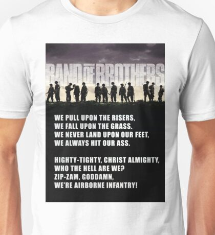 Band of Brothers - Airborne Infantry Unisex T-Shirt