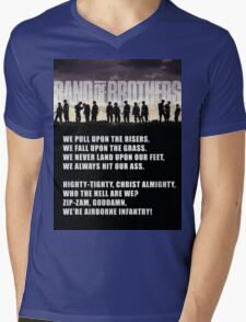 Band of Brothers - Airborne Infantry Mens V-Neck T-Shirt