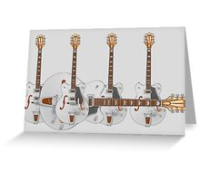 gretsches Greeting Card