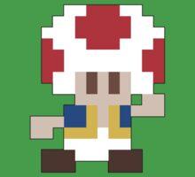Super Mario Maker - Toad Costume Sprite Baby Tee